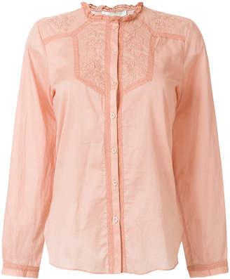 Vanessa Bruno embroidered yoke blouse