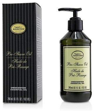 The Art of Shaving NEW Pre Shave Oil - Unscented (With Pump) 240ml Mens Skin