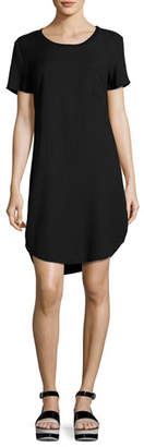 Splendid Jersey Pocket Tee Dress, Black $118 thestylecure.com
