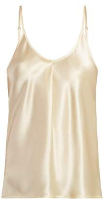 7b0b462968b04 Bottega Veneta Scoop Neck Satin Camisole - Womens - Cream