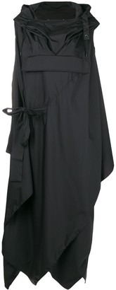 Maison Margiela hooded parka dress