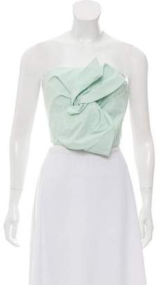 DELPOZO Bow-Accented Sleeveless Top