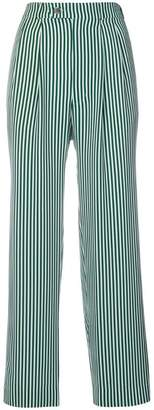 Roseanna striped wide-leg trousers