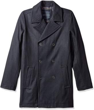 Tommy Hilfiger Men's Big-Tall Classic Peacoat