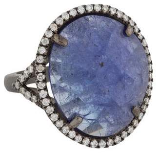 Meira T Tanzanite & Diamond Cocktail Ring