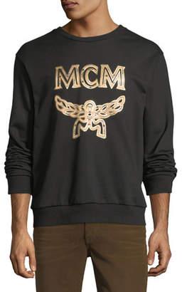 MCM Logo Cotton Sweatshirt