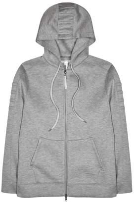Helmut Lang Grey Hooded Modal Sweatshirt