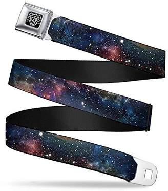 Buckle-Down Unisex-Adults Seatbelt Belt Space Regular dust Collage
