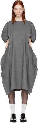 Comme des Garçons Grey Volume Dress $1,120 thestylecure.com