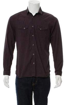The Kooples Fitted Plaid Shirt