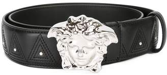Versace Palazzo Medusa stud belt