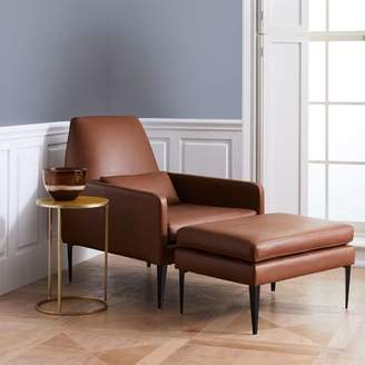 west elm Smythe Leather Chair