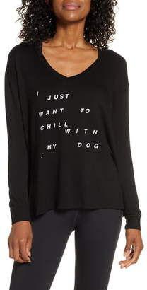 good hYOUman Robin Chill with My Dog Graphic Shirt