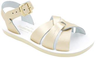 Sun San Swimmer Metallic Leather Sandal