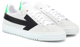 Off-White Off White Arrows suede sneakers