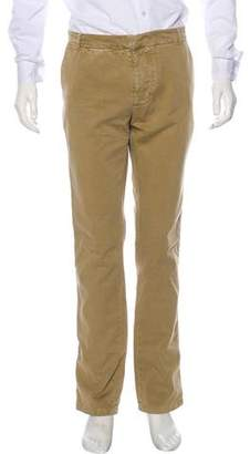 Band Of Outsiders Flat Front Woven Pants