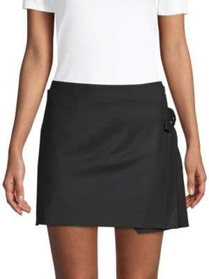 Helmut Lang Pleated Mini Skirt