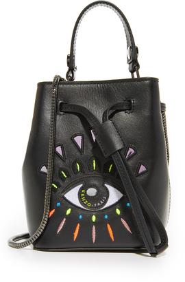 KENZO Mini Bucket Bag $360 thestylecure.com
