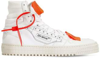Off-White 20mm Off-Court Leather Sneakers