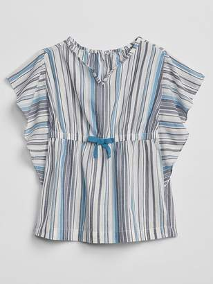 Gap Stripe Poncho Cover-Up