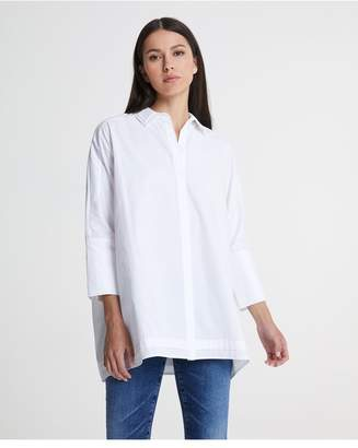 AG Jeans The Frequency Oversized Tunic - True White