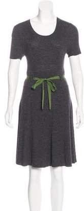 Paule Ka Wool Knee-Length Dress