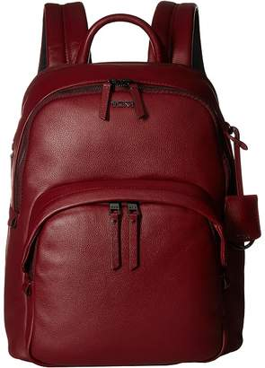 Tumi Voyageur Dori Leather Backpack Backpack Bags