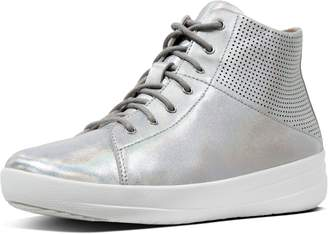 FitFlop F-Sporty Perforated Leather Boots