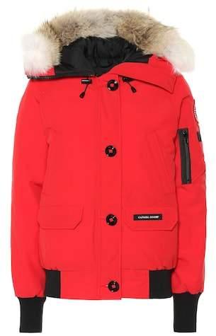 Chilliwack fur-trimmed down jacket