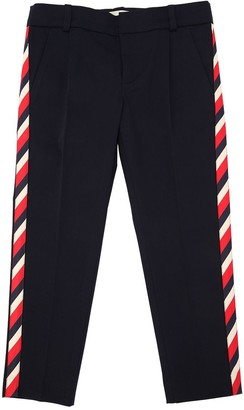 Gucci Stretch Gabardine Pants W/ Side Bands