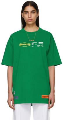 Heron Preston Green Heavy Duty T-Shirt