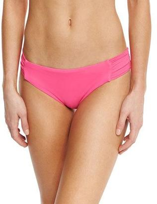 Trina Turk Gypsy Shirred-Side Hipster Swim Bottom $56 thestylecure.com