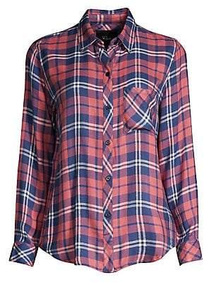 ae861940146 Rails Women s Hunter Plaid Button-Down Shirt