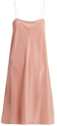 Loup Charmant - Silk Slip Dress - Womens - Pink