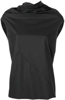 Rick Owens Lilies asymmetric seam blouse
