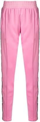 Chiara Ferragni Eye motif side stripe trousers