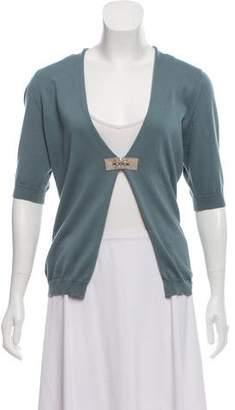 Peserico V-neck Knit Cardigan