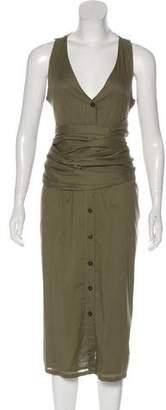 Marysia Swim Woven Midi Dress
