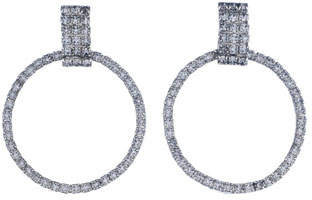 Dannijo Stefano Crystal Statement Earrings