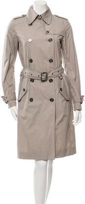 Burberry Lightweight Trench Coat $445 thestylecure.com