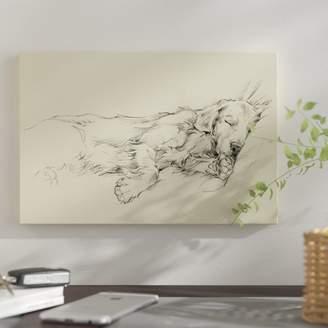 East Urban Home 'Dog Days III' Graphic Art Print on Canvas