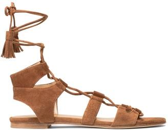 The Romanflat Sandal $445 thestylecure.com