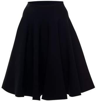 Alaia Stretch-Knit Mini Skirt