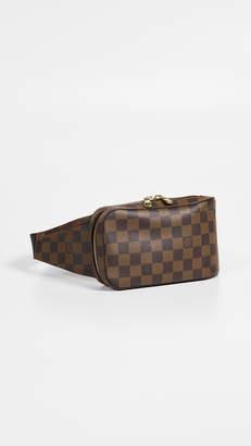 Louis Vuitton What Goes Around Comes Around Damier Ebene Geronimos Waist Bag