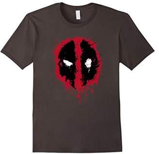 Marvel Deadpool Splatter Icon Graphic T-Shirt