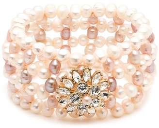 Carolee Cultured Freshwater Pearl Stretch Bracelet