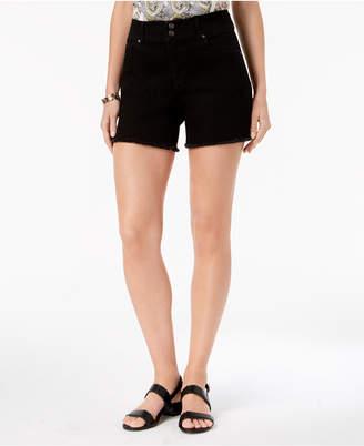 Style&Co. Style & Co Frayed-Hem Denim Shorts, Created for Macy's