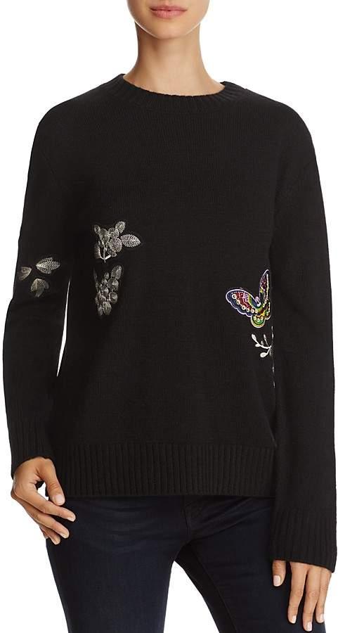 AQUA Patch Crewneck Sweater - 100% Exclusive