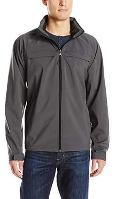 Izod Men's Water Resistant Active Jacket with Hidden Hood