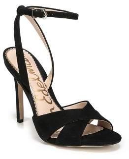 Sam Edelman Aly Stiletto Suede Sandals